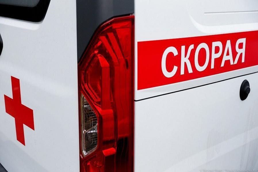 На ул. Москвина в Калининграде девятилетний мальчик попал под колёса «Мазды»