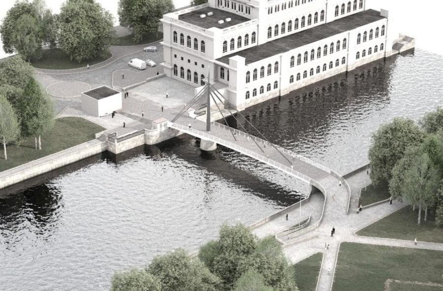 В правительстве передумали называть новый мост Биржевым. Против этого слова был Алиханов