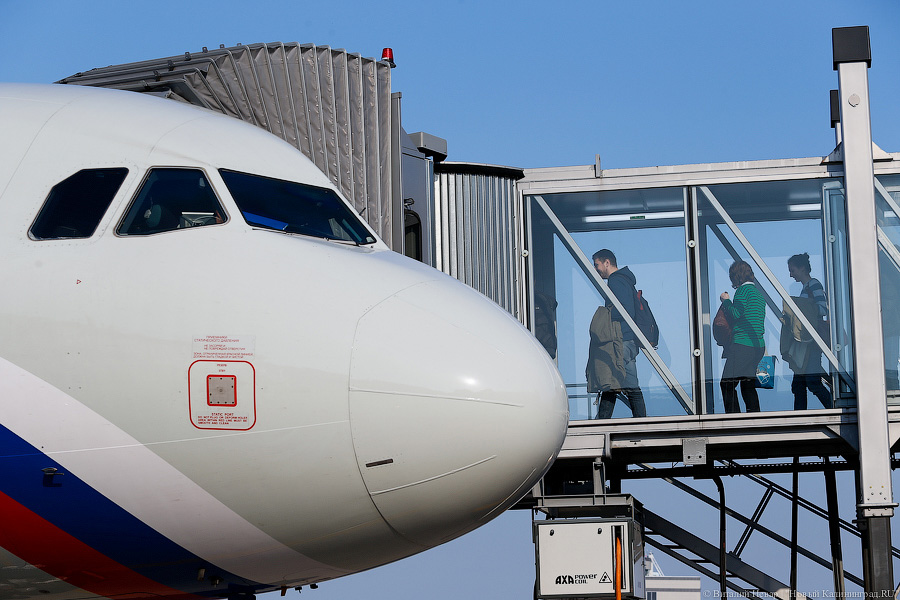 ВХраброво из-за тумана задержаны 5 рейсов