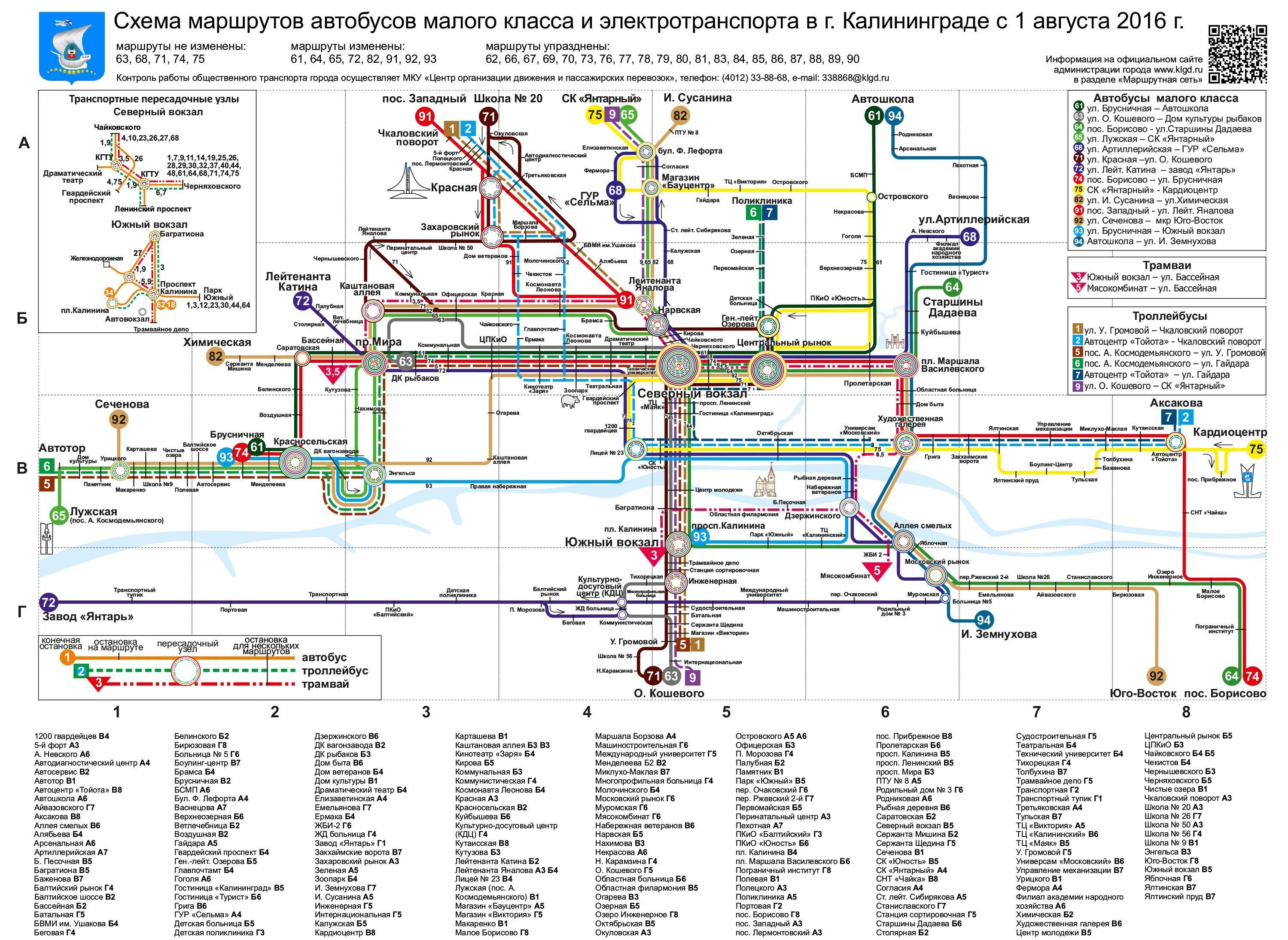Новая схема движения автобусов фото 82