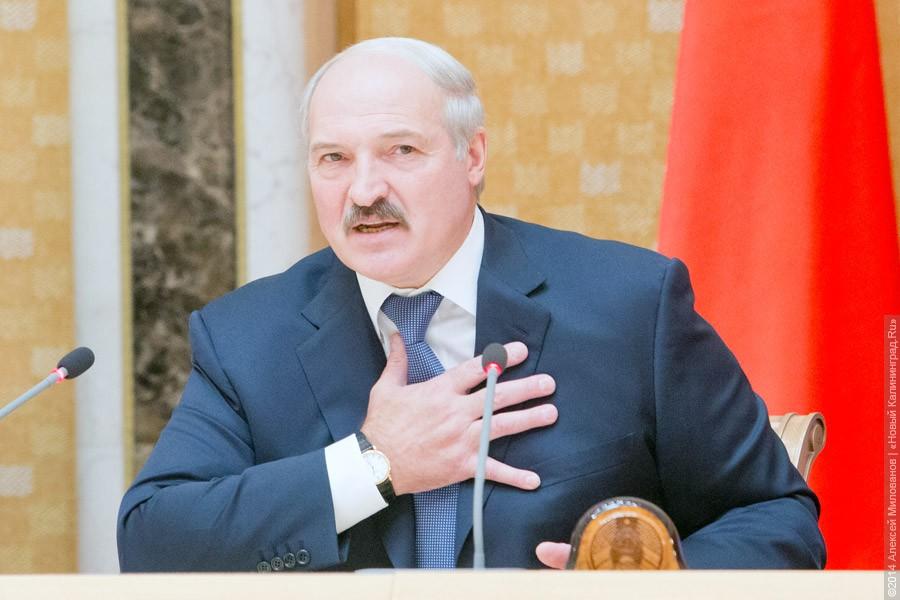 Лукашенко: республика Белоруссия незаваливала Российскую Федерацию какими-то санкционными продуктами