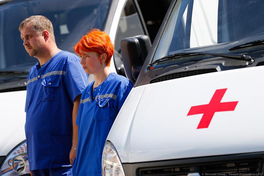 Двухлетний ребенок умер вКалининграде, выпав изокна 5-го этажа