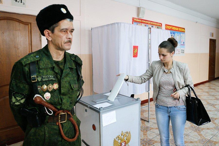 Антон Алиханов проголосовал навыборах губернатора Калининградской области
