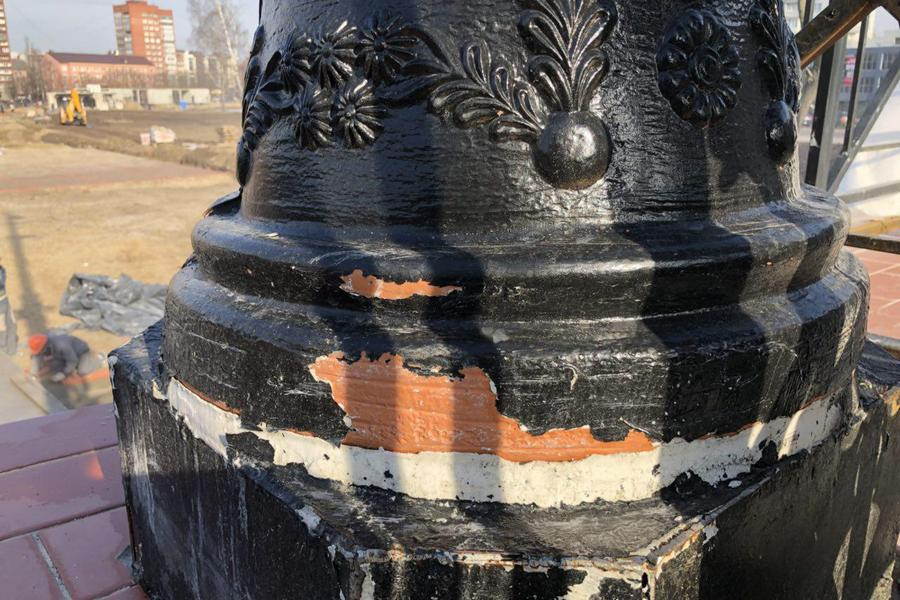 ВКалининграде при реконструкции высочайшего моста использовали обычные цветочные горшки