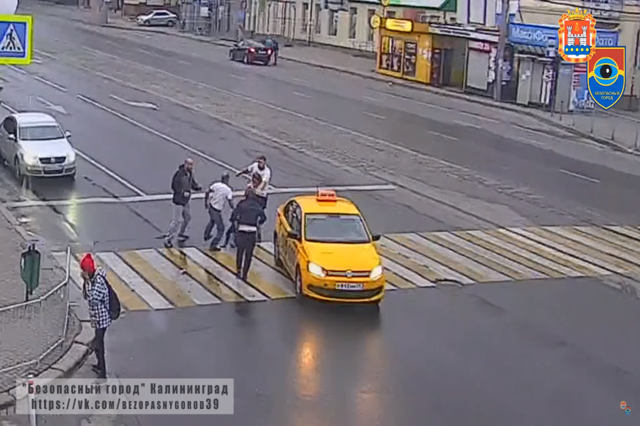 НаЛенинском проспекте вКалининграде произошла массовая драка