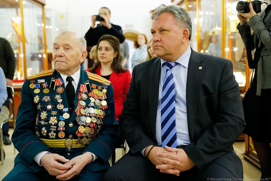 Народные избранники Горсовета решили повторно выбрать почётного гражданина Калининграда