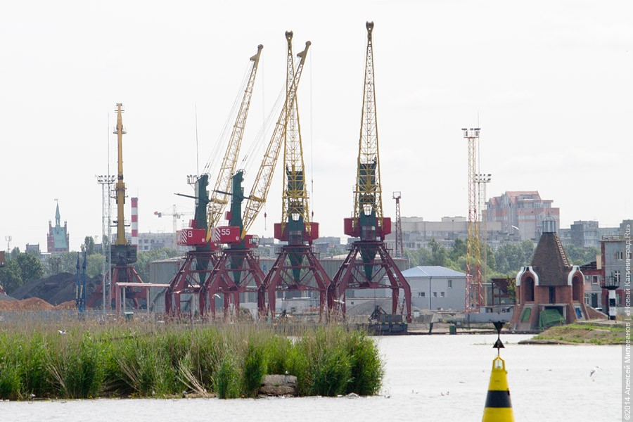 Грузооборот калининградского порта в прошлом году вырос до13,8 млн тонн