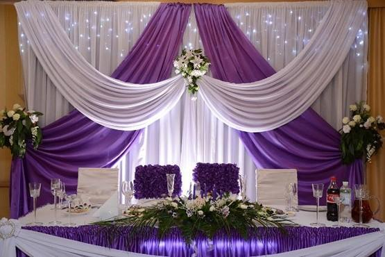 Зона жениха и невесты оформление фото