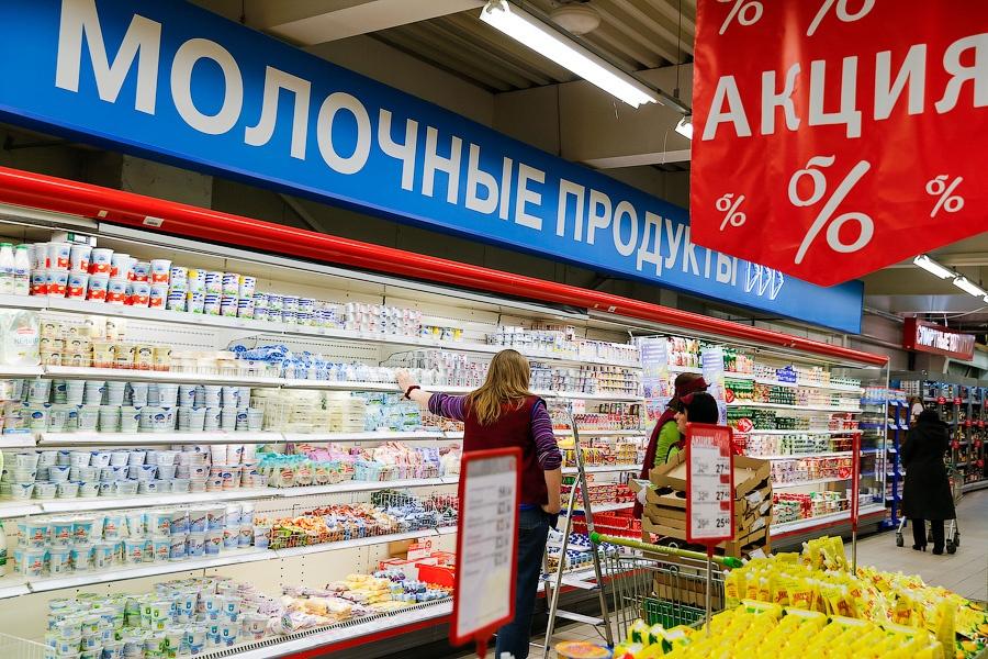 Роспотребнадзор снял среализации неменее 64 тонн молочной продукции