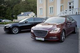 Один другого лучше: двойной тест-драйв Hyundai Genesis нового поколения
