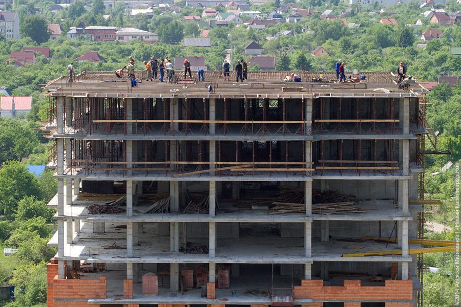 В РФ заполгода удвоилось число банкротств строительных компаний