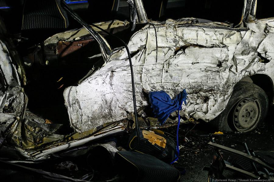 Упопавшего вДТП под Калининградом микроавтобуса небыло лицензии— генпрокуратура