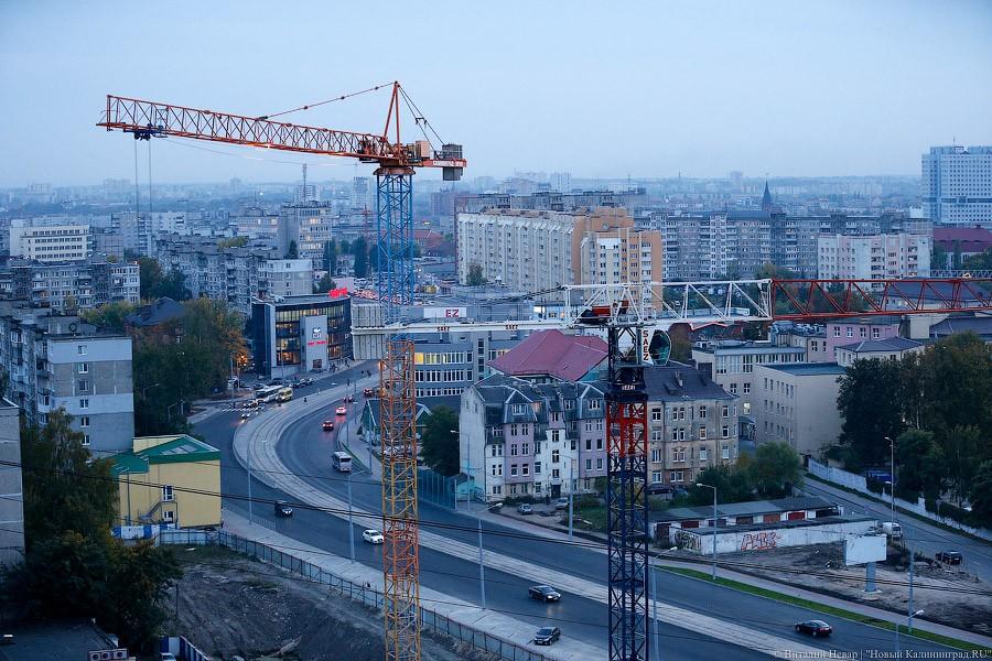 Под Калининградом упал башенный кран срабочим вкабине
