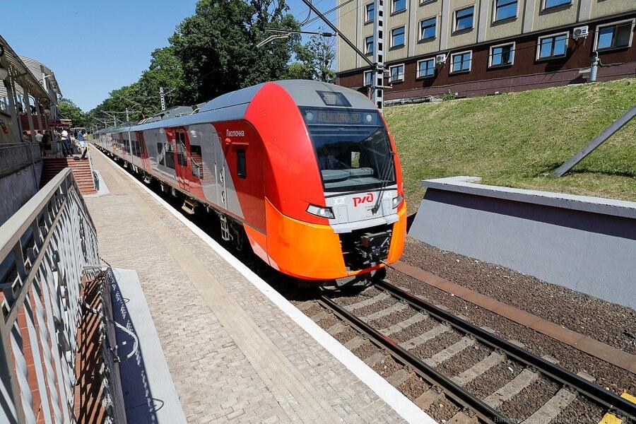 КЖД объявила о дополнительных вечерних поездах на море в выходные