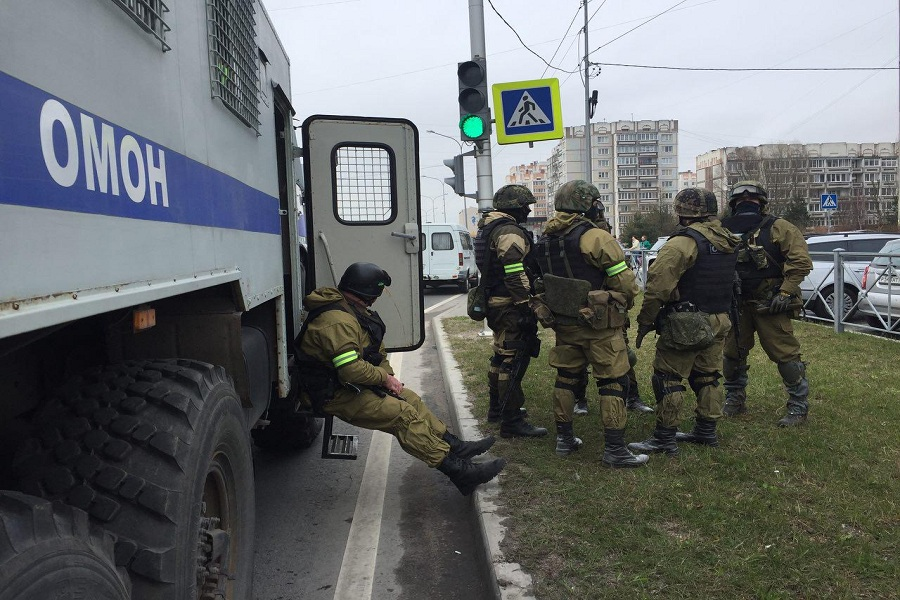 Натерритории Калининградской области проводят антитеррористические учения
