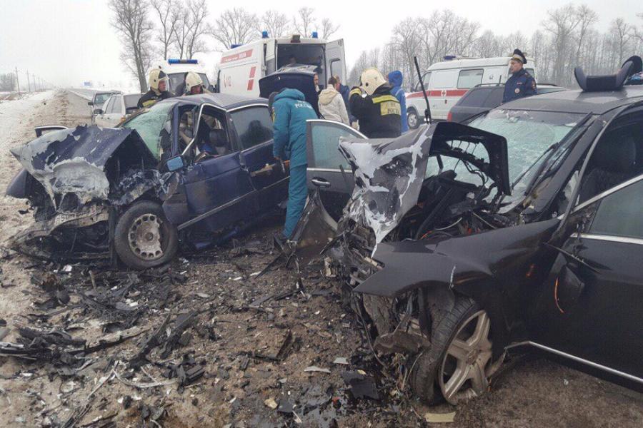 Два человека погибли вДТП вКалининградской области