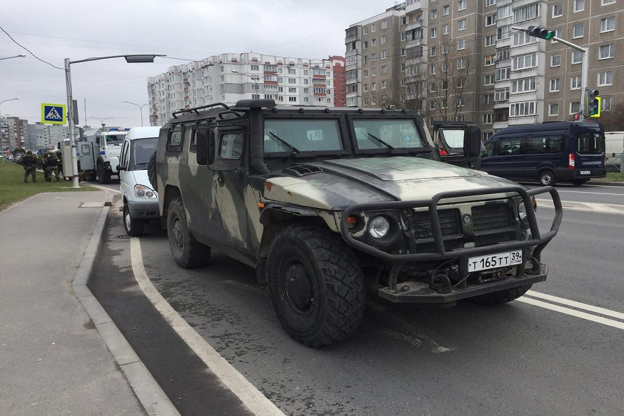 ВКалининграде перекрыты несколько улиц: идут антитеррористические учения