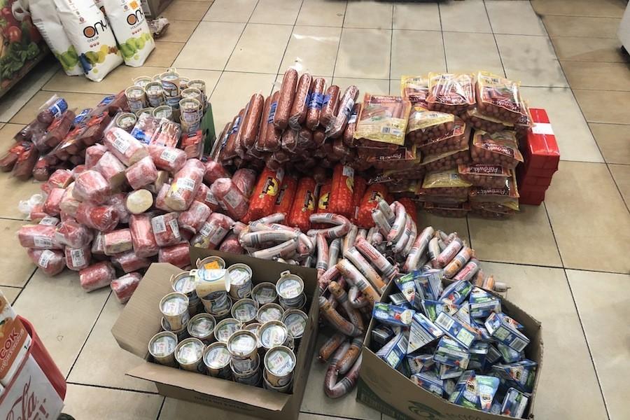 На складах на Полоцкой нашли почти 4 тонны «санкционки» (фото)
