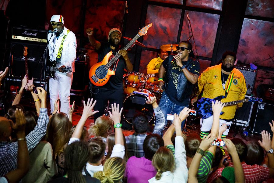 a music concert review of reggae band from jamaica Trinity 7 is a roots reggae band,currently based in the tampa bay area they bring authentic, old school sound straight from the hills of jamaica.