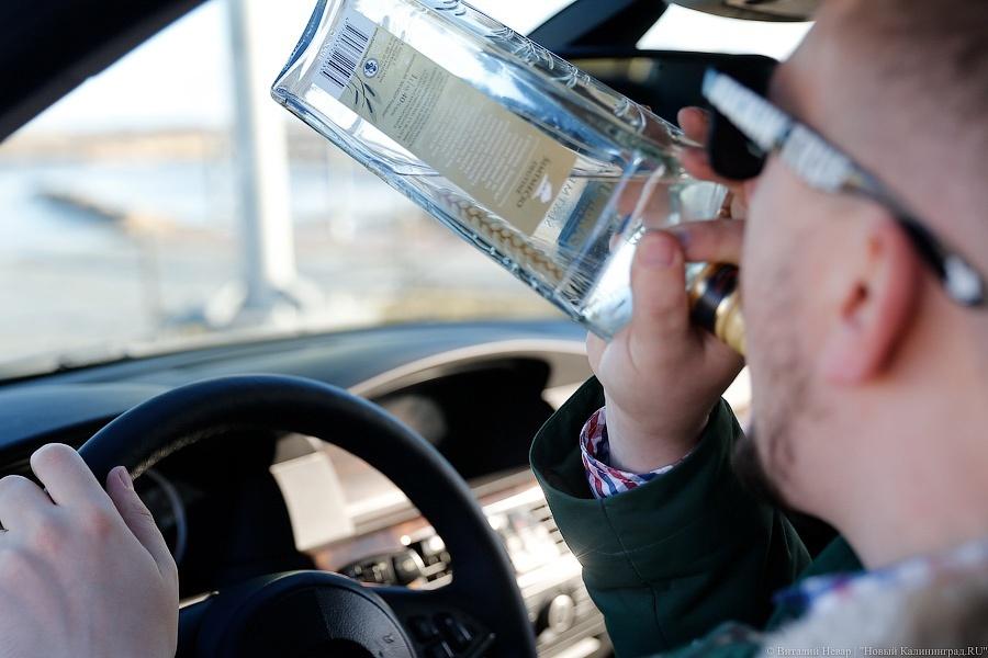 Накурских трассах задержаны 40 нетрезвых водителей
