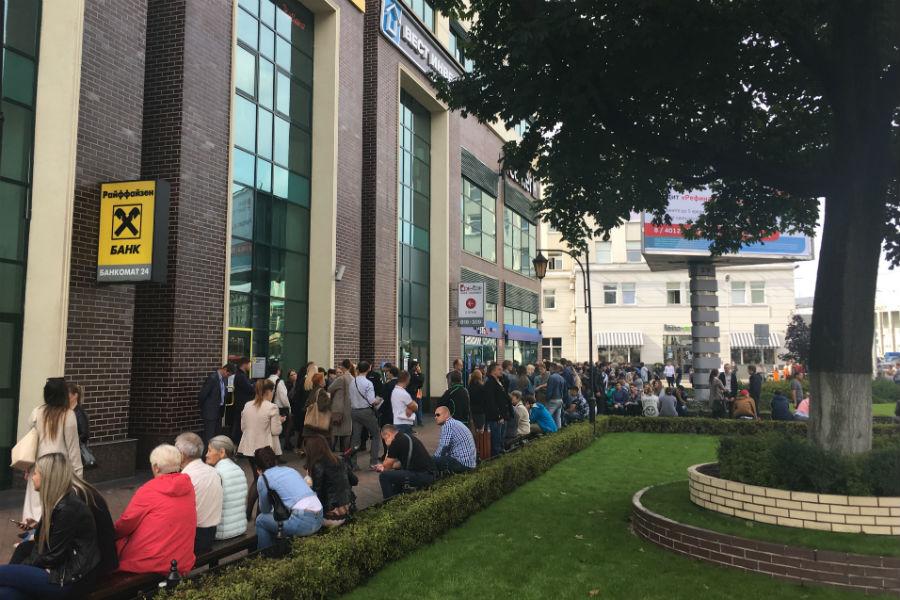 ВКалининграде массово эвакуировали торговые центры и социальные здания