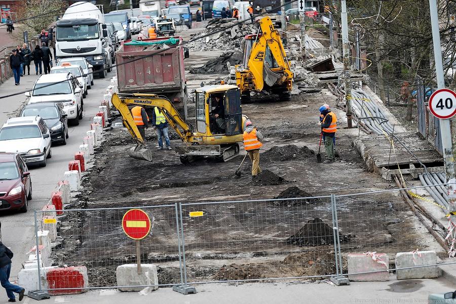 «Никакая нереконструкция»: как движется ремонт моста наОзерова