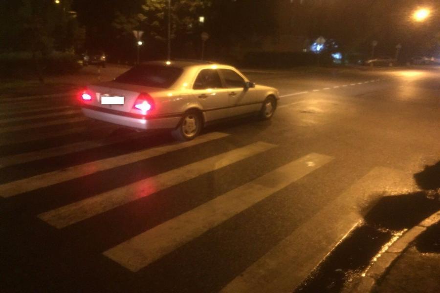 Наул.Суздальской шофёр «Рено», сдавая назад, насмерть задавил 68-летнего калининградца