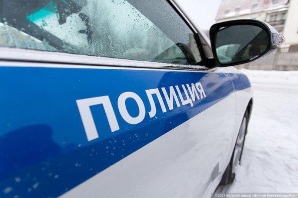 В Зеленоградском районе водитель не справилась с управлением, машина «вылетела» в кювет (фото)