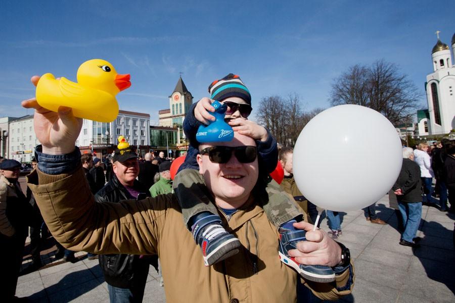 Кремль поручил провести в областях митинги против терроризма