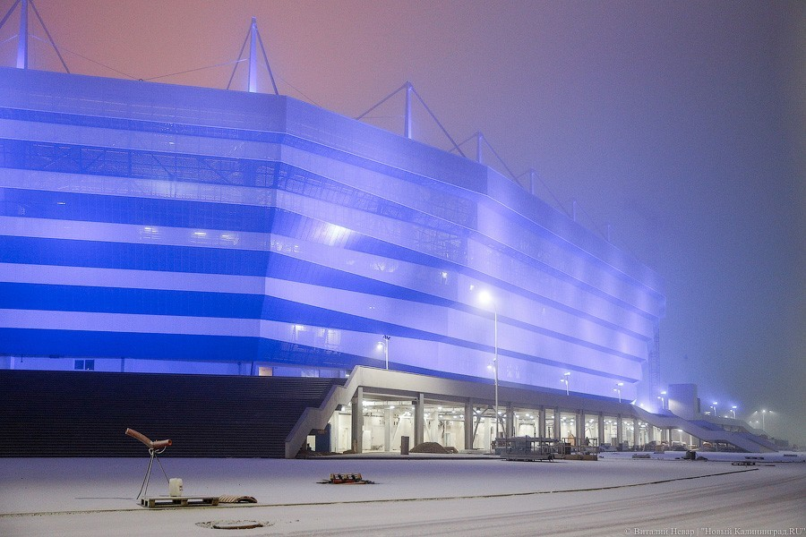 Наматч ФНЛ нановом стадионе вКалининграде проданы все билеты