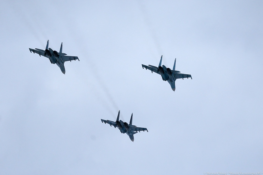 Самолеты НАТО провели разведку уграниц Калининградской области