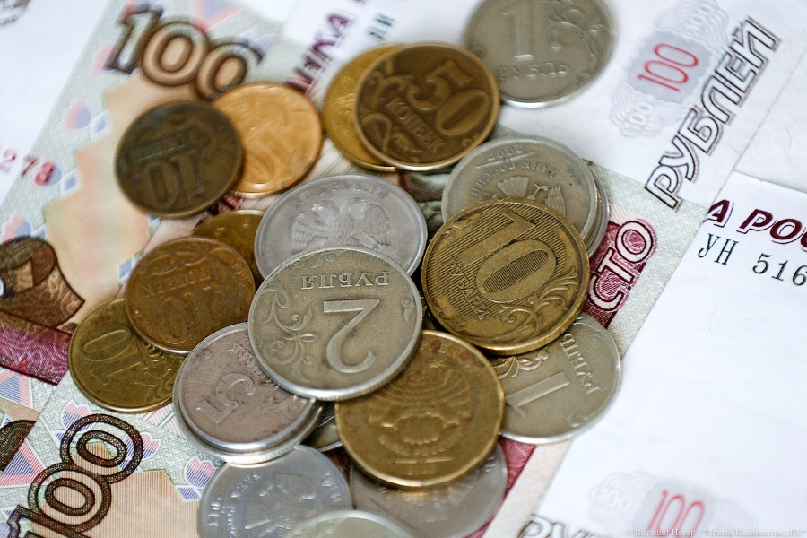 Больше граждан России получают заработной платы вконвертах