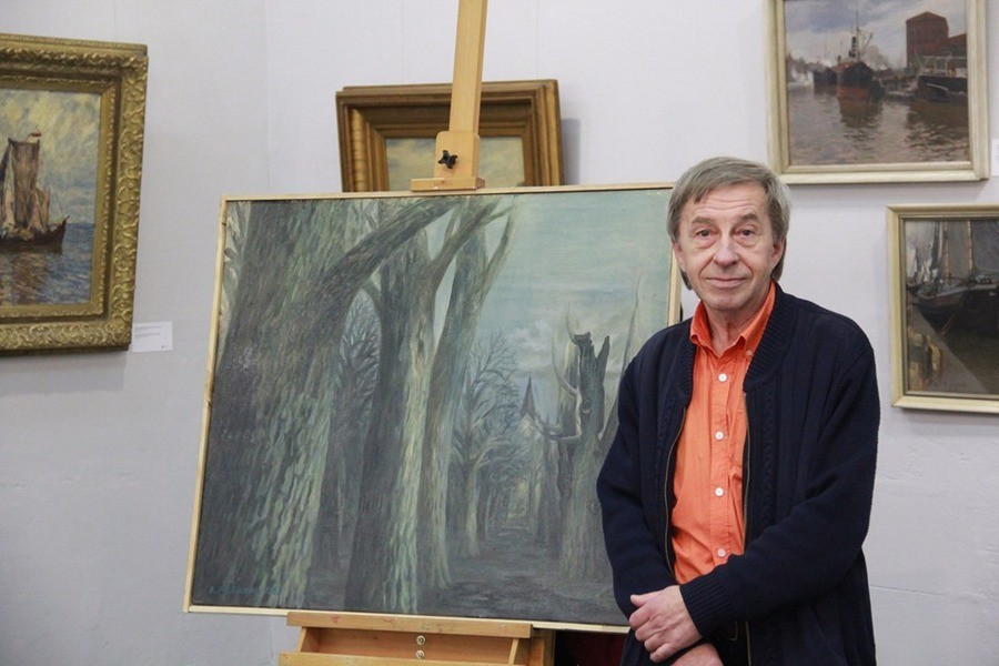 Виктор Рябинин. Фото предоставлено Калининградским музеем изобразительных искусств