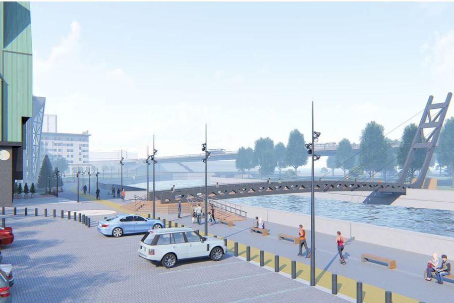 Дятлова: строительство пешеходного моста на о. Канта отложили по просьбе отельеров