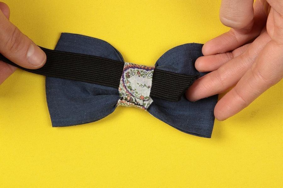 Бабочка на рубашку своими руками из ткани 52