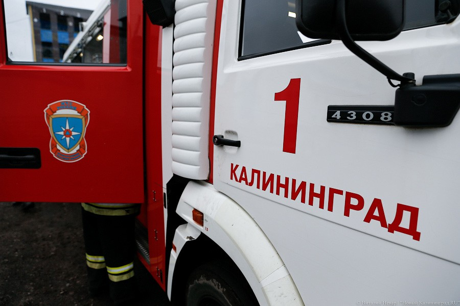 Под Калининградом при взрыве газа пострадали пять человек