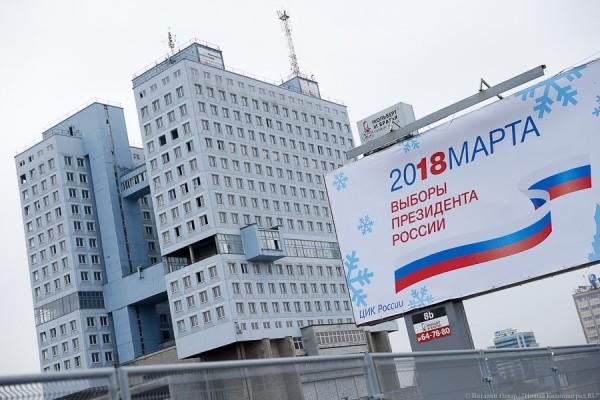 Выборы президента-2018: онлайн-трансляция «Нового Калининграда»