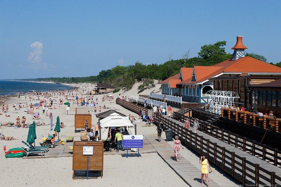 Зеленоградск калининградская область фото пляж