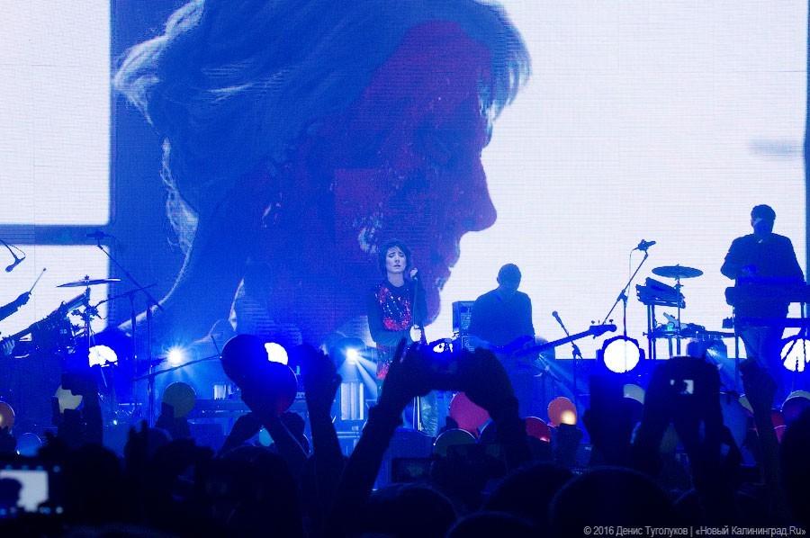 Концерты Земфиры вНижнем Новгороде иКалининграде отменены из-заЧМ