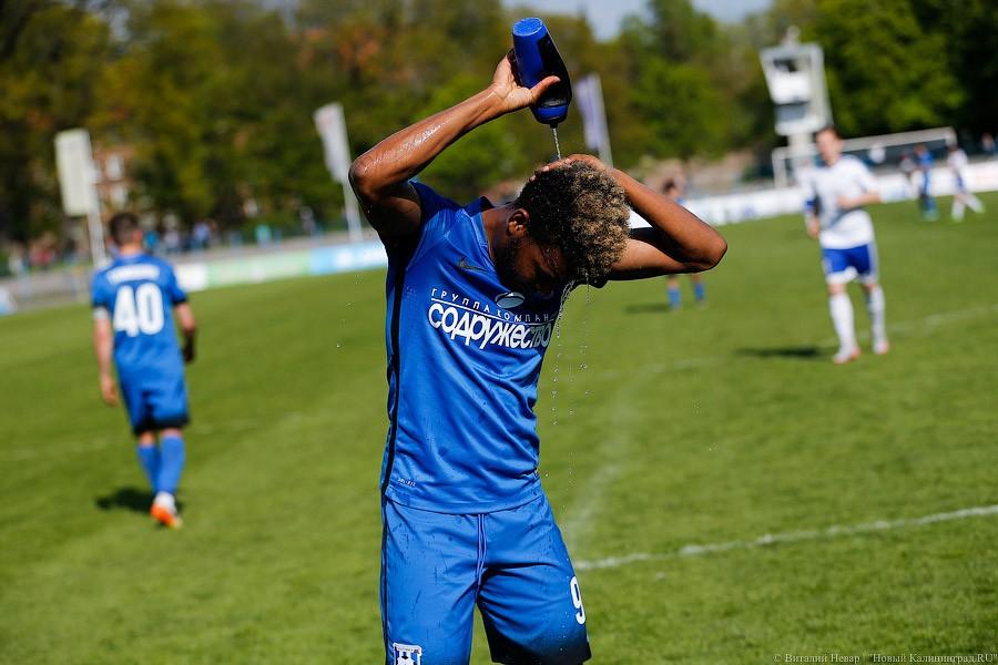 Футболисты красноярского «Енисея» вКалининграде навсе 100%  реабилитировались запоражение вТамбове