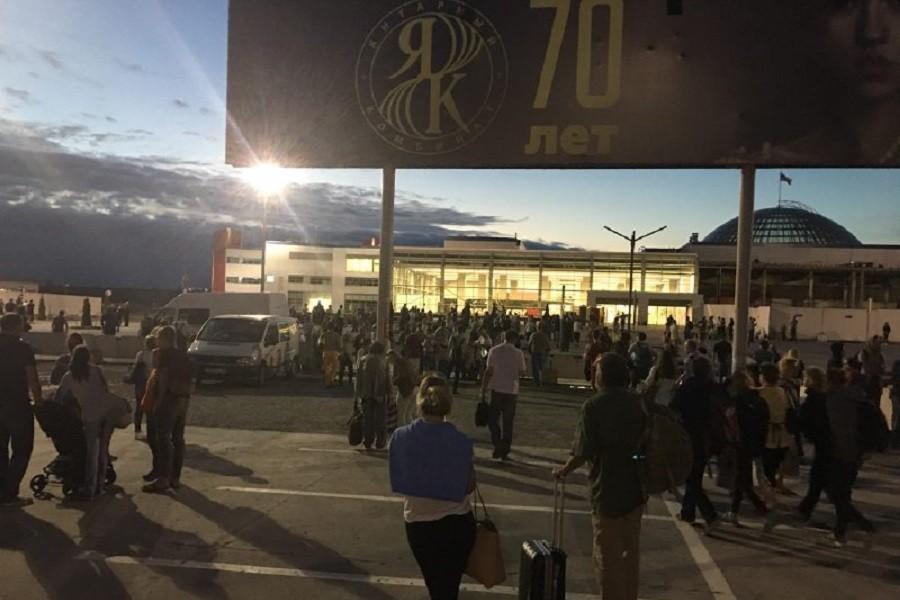 В милиции  проинформировали , что минирование аэропорта вКалининграде оказалось ложным