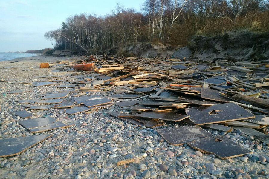 удивительные находки после шторма балтика фото благоустроенный