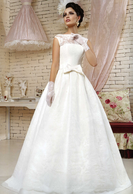 Свадебное платье на худую