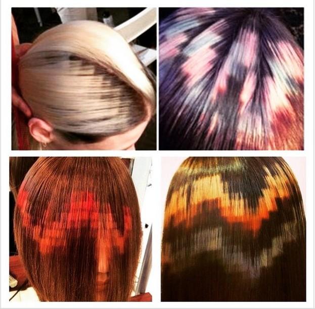 Окрашивание волос новые фото